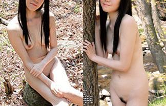 若手声優がまさかのぬーど☆新井舞衣がチクビもヘアも外で晒した☆(えろ写真6枚)