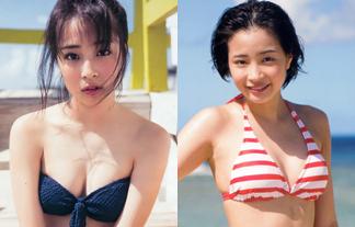 広瀬すずミズ着写真52枚☆若手No.1美10代小娘女優の胸の膨らみがえろすぎる☆