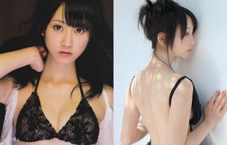 松井玲奈 ミズ着えろ写真93枚☆背中ぬーどに定評のある元SKE48絶対エース☆