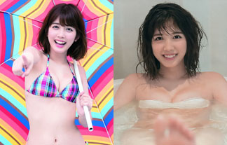 松田るかミズ着えろ写真73枚☆仮面ライダーヒロインの入浴グラビアにときめきクライシスwwwwww