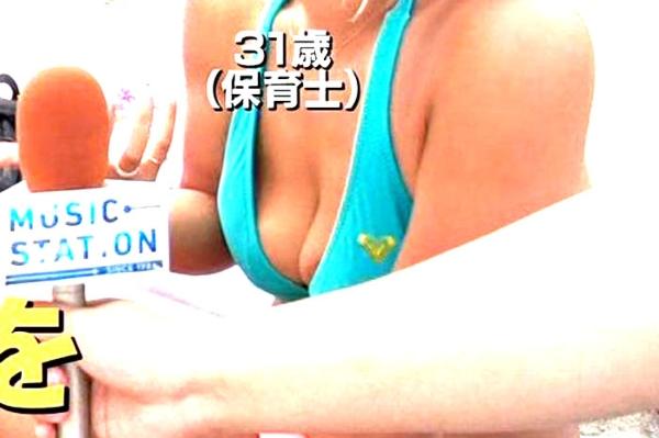 Mステ 乳輪エロ画像002