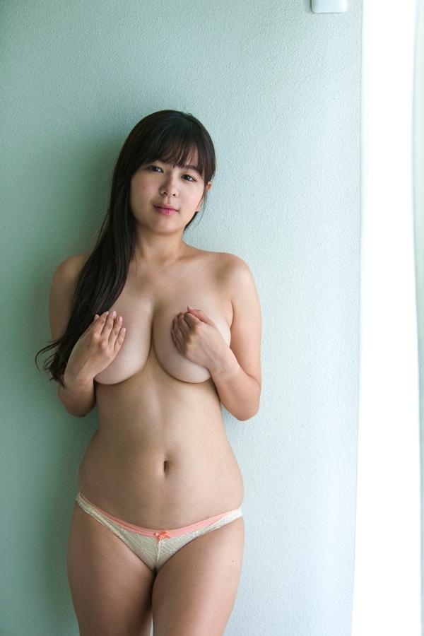 松川悠菜 セミヌードエロ画像008
