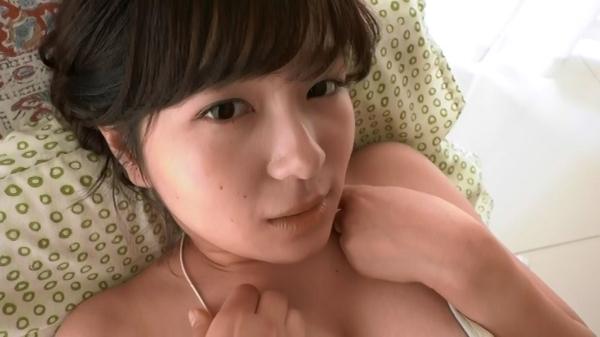 松川悠菜 セミヌードエロ画像054
