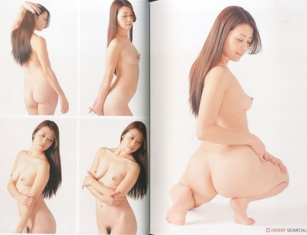 スーパー・ポーズブック ヌードエロ画像052