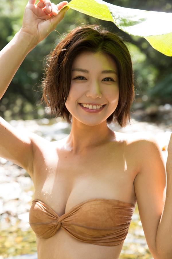 藤木由貴 セミヌードエロ画像015