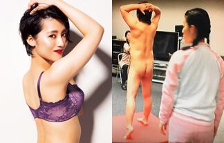 福田彩乃さん、ぬーどモデルのナマ性器をガン見してメスの顔にwwwwww(えろ写真14枚)