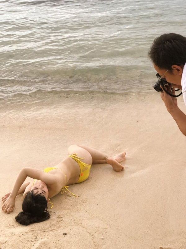奥津マリリ 水着エロ画像024