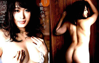 (ぬーど)紫雷イオ、全部脱いだ☆人気モデルレスラーが丸裸に…(えろ写真51枚)