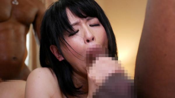 黒人×日本人 セックスエロ画像023
