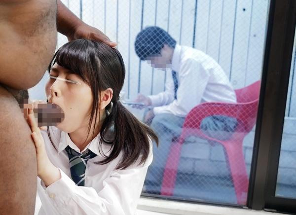 黒人×日本人 セックスエロ画像044