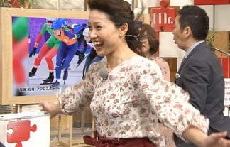 (放送事故)岡崎朋美さん、パンツがガッツリ透けてしまうwwwwww(えろ写真15枚)