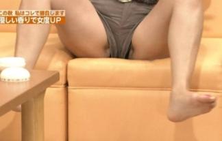 (放送事故)パンツどころかマンびらまで見えそうwwwwwwアイドルのハプニングパンツ丸見え写真