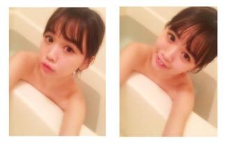"""元HKTの""""ゆうこす""""がツイッターですっぴん入浴写真アップwwwwww今は入浴写真貼るのがブームなの?wwwwww"""