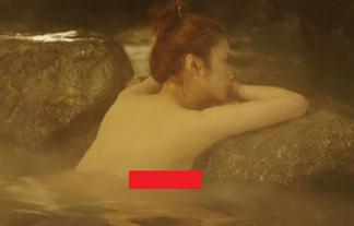 上戸彩(30)が魅せた限界横乳☆私は岩になりたい…(GIFあり)