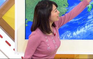気象予報士・福岡良子の美巨乳お乳にボッキ注意報発令wwwwwwww(キャプ写真15枚)