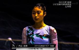 NHK女子体操中継で18才選手のチクビ透けピンピン放送事故wwwwwwww(※写真あり)