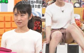 文具ソムリエール菅未里が艶かしい太ももを全国ネットに晒すハプニング☆(写真あり)