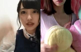 (過激)AKB48メンバーの生配信映像が総選挙の票欲しさにえろチャット化wwwwww(写真あり)