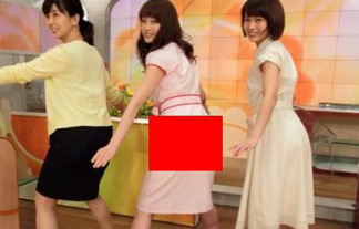 (パン線)新井恵理那アナ、突き出したお尻にパンツラインが☆(写真あり)