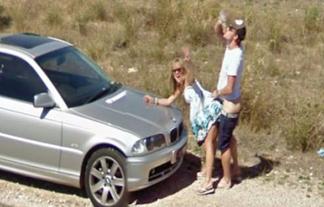 Googleのストリートビューで発見したえろ写真wwwwこんなんよく見つけたなwwwwww(写真19枚)