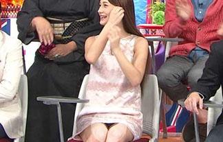 (パンツ丸見え)ダレノガレ明美がバイキング☆にミニワンプで出演した結果マル見えパンツ丸見えwwwwww
