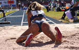 リオオリンピックで素晴らしいカラダ美を見せてくれた陸上女子wwwwwwww(写真あり)