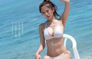 (伊東紗冶子)ミス近大の女子大学生キャスターのミズ着姿が凄いと話題に☆ハリがあるお乳☆