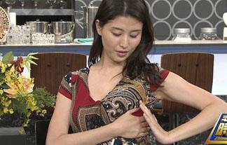 橋本マナミが志村けんの番組で自分でお乳を揉んでいてえろ過ぎるんだがwwwwww(写真あり)