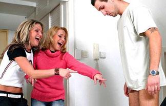 (写真)オチンチン見せた時女性にされたら嫌な反応がこちらwwwwwwこれはトラウマになるwwwwww