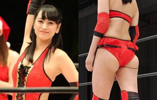 (ハミ尻)脊山麻理子アナ、女子プロレス挑戦でエッロい尻肉がハミ出す☆(写真17枚)