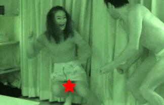 (パンツ丸見え)岡田結実(16)、ドッキリでスカートの中身がマル見えハプニングwwwwww(GIFムービー)