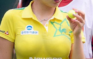 韓国の女子ゴルファーがえろ過ぎてゴルフどころじゃなくなっているwwwwwwww