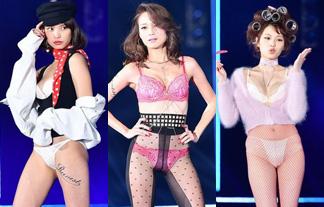 TGCに人気モデルが下着で登場☆2ch「まるでストリップ…」「マンスジ☆」(えろ写真)
