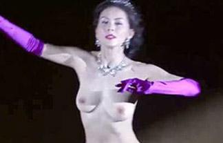 【ヌード】杉本彩、全裸社交ダンス!乳首・ヘア丸出しのこのエロ画像…詳細知りたすぎるwww