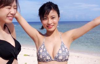 小島瑠璃子の最新お乳&日焼け跡がえろすぎるwwwwww(GIFムービー&写真あり)