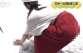 AKB48横山由依さん(24)スカートがくっきり透けてパンツのラインが見えてしまうwwwwww