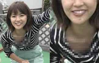(胸チラ)久代萌美アナ ゆるいのはあなたの胸元…小さい乳の奥の方まで見えるんだけどwwwwww