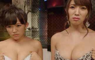 天木じゅんと森咲智美が下着共演wwwwwwバツGAMEでどんどん脱がされていく…