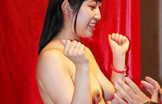 恒例行事となったお乳募カネに出席した美巨乳色っぽい女優がえろいwwwwwwww