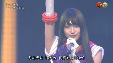第66回紅白歌合戦 アニメ紅白 AKB48 セーラームーンコスプレ画像060