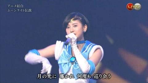 第66回紅白歌合戦 アニメ紅白 AKB48 セーラームーンコスプレ画像062