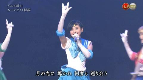 第66回紅白歌合戦 アニメ紅白 AKB48 セーラームーンコスプレ画像063