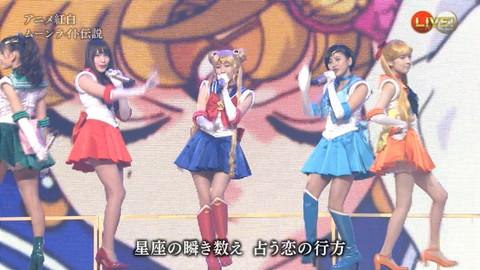 第66回紅白歌合戦 アニメ紅白 AKB48 セーラームーンコスプレ画像071